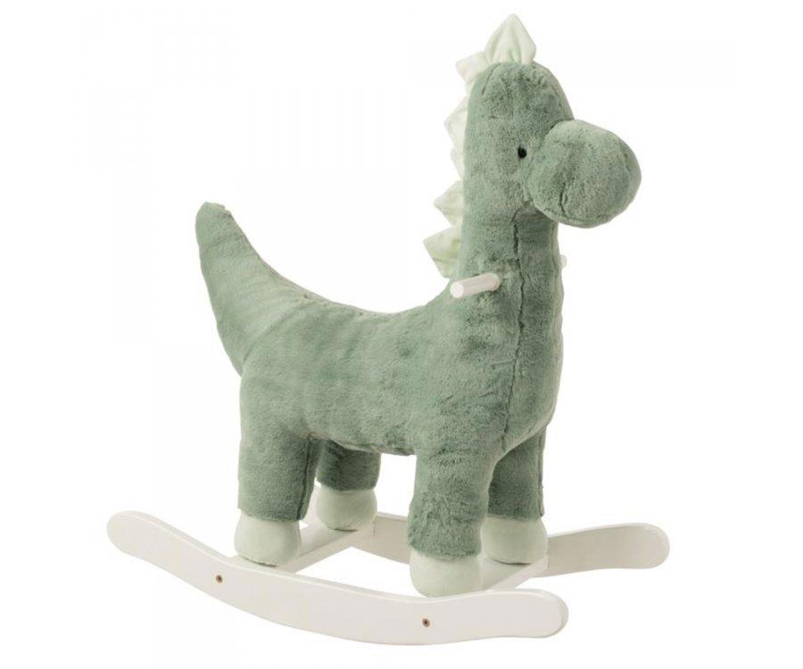 Dinosaure à bascule vert pour enfant TIREX