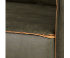 Grand canapé cuir rétro 2,5 places COLORADO