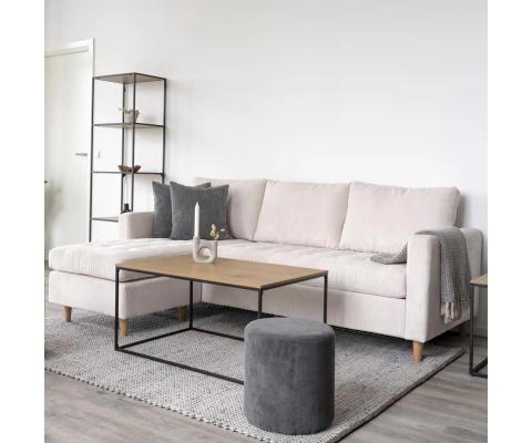 Grand Canapé d'angle confortable-KIKA