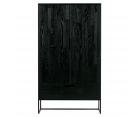 Grande armoire moderne bois massif 149cm SILAS - Woood