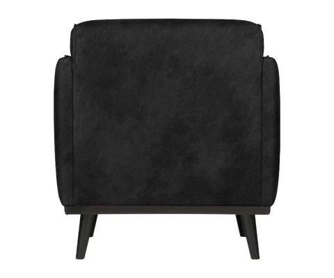 Fauteuil cuir style rétro STATEMENT