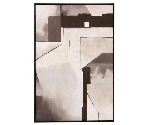 Tableau contemporain art abstrait 82x122cm HODOR