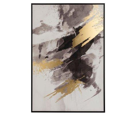Tableau contemporain 82,6x122,6cm AUBER