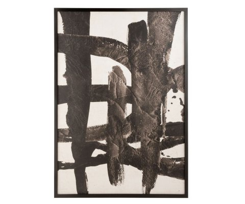 Tableau contemporain art abstrait 110x157cm DARYL