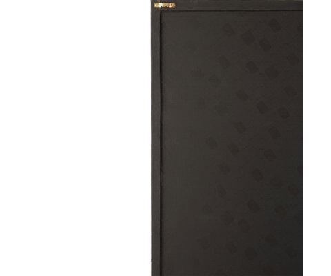 Tableau moderne en cuir 60x90cm noir et doré ISEC