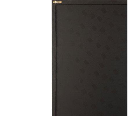 Tableau moderne en cuir 40x60cm noir et doré ISEC