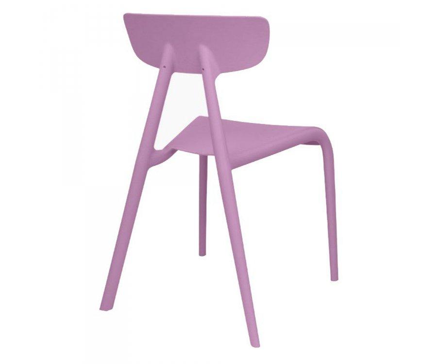 Chaise enfant plastique DING - Couleurs au choix