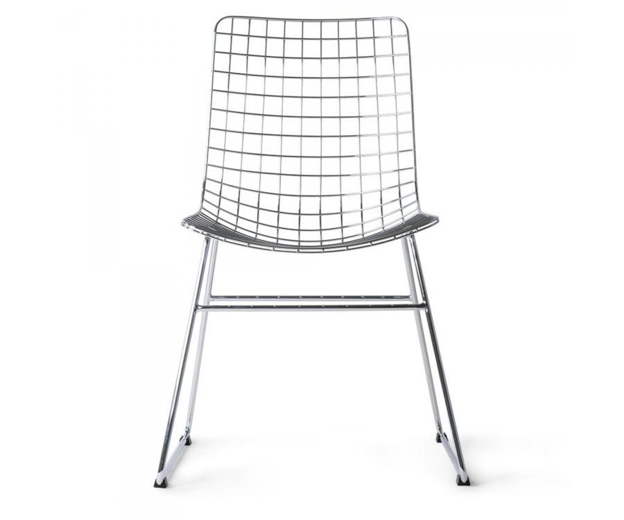 Lot de 2 chaises lounge métal-JOJO