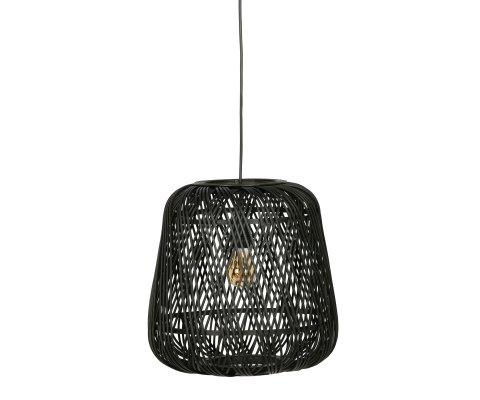 Suspension lampe tressée bohème-MILANA