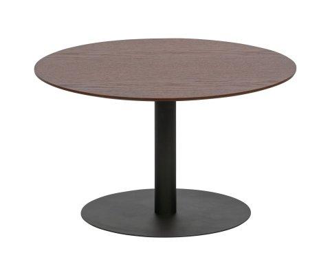Table basse ronde en bois et métal 60cm DONNAK