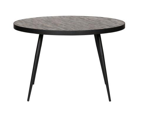 Table ronde bois recyclé-TIDJY