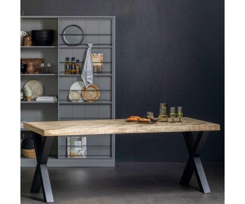 Table design et pieds croix- PUPULE