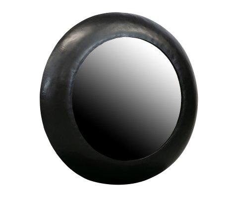 Miroir rond vintage fait à la main- CLAUDE