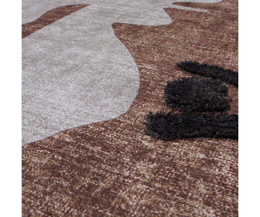 Tenture artistique design en tissu - RUPUS