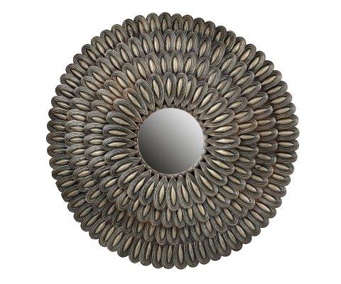 Miroir en métal antique - HUSK
