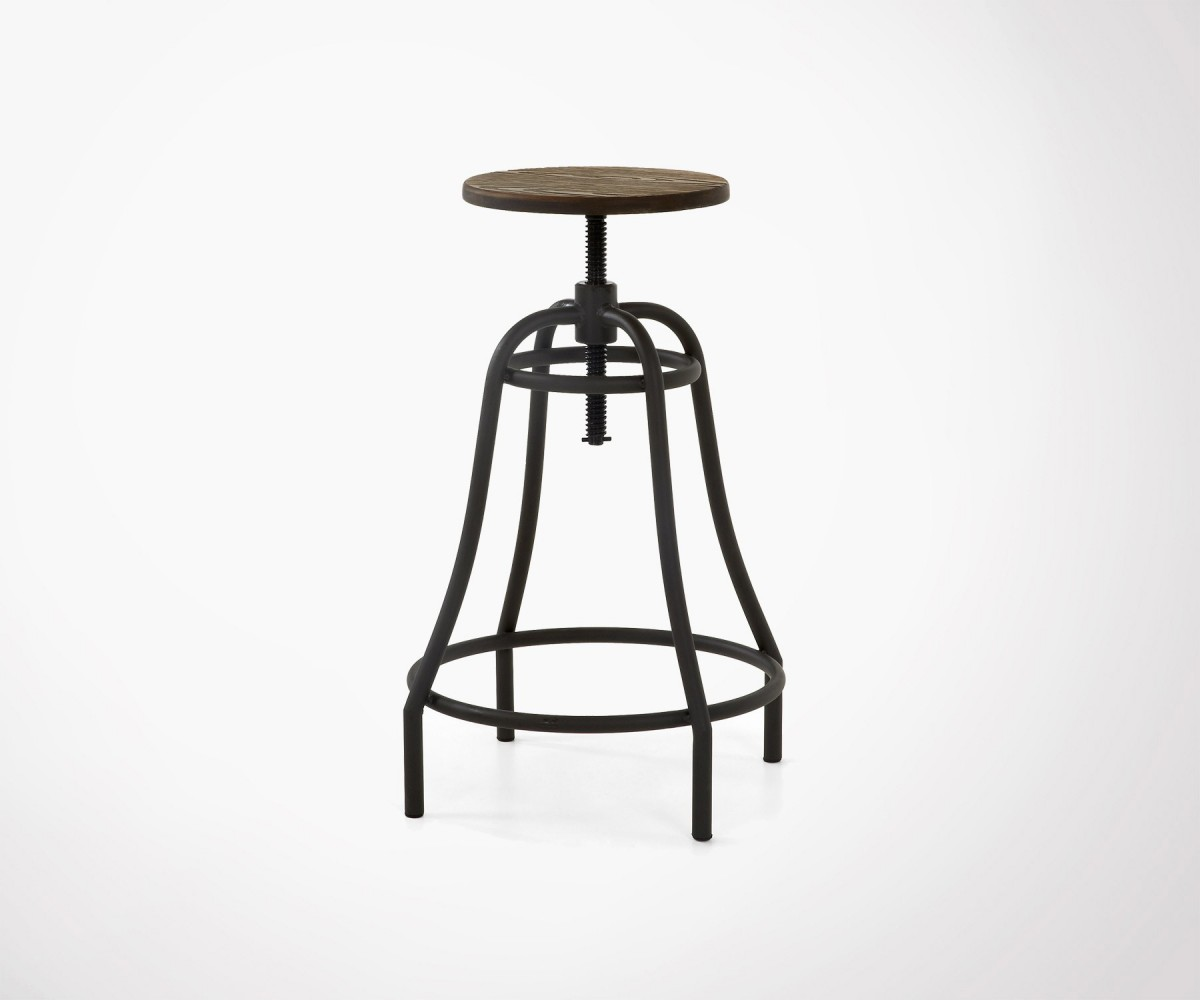 Industrial Style Bar Or Table Stool Several Colors In Stock