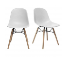2 chaises scandinaves FANNY
