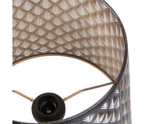 Lampe de table design en métal noirKARLITO