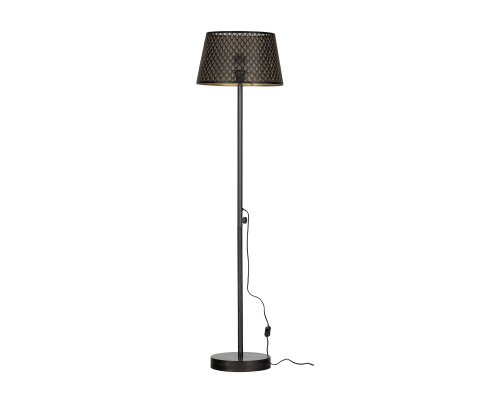Lampadaire métal noir design - KARL