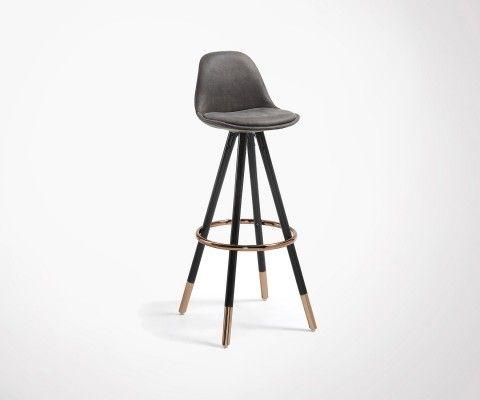 GASTAMA Upholstered Design barstool