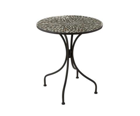 Petite table de jardin design en mosaïque BOGOTA