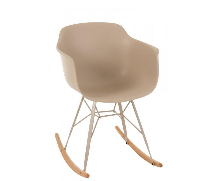 Chaise à bascule scandinave-BOMI