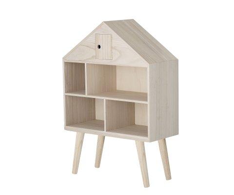 Étagère enfant forme maison en bois MIMS