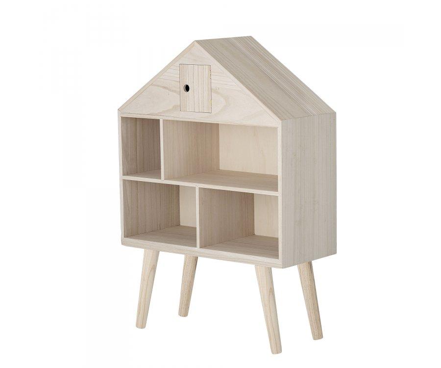 Étagère maison 105x70cm en bois naturel MIMS