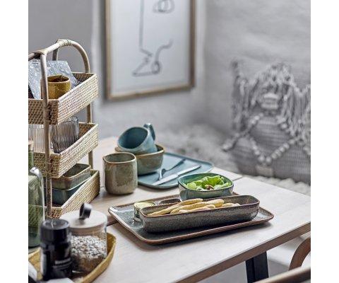 Table à manger rectangulaire 145x55 en bois et métal MYRIAME