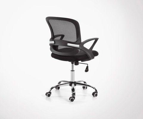 Chaise Bureau Design Tissu De Open Yb6fg7y