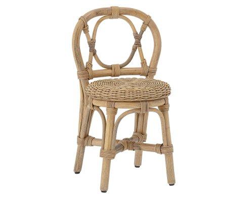 Chaise pour enfant en rotin naturel HORTENSA