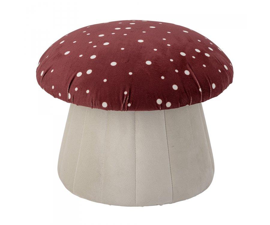 Pouf en tissu pour enfant en forme de champignon - LUE