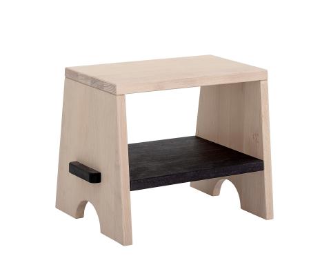 Banc enfant rectangulaire en bois de hêtre JELA