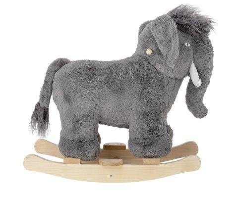 Éléphant gris foncé à bascule design ELEPHANTO