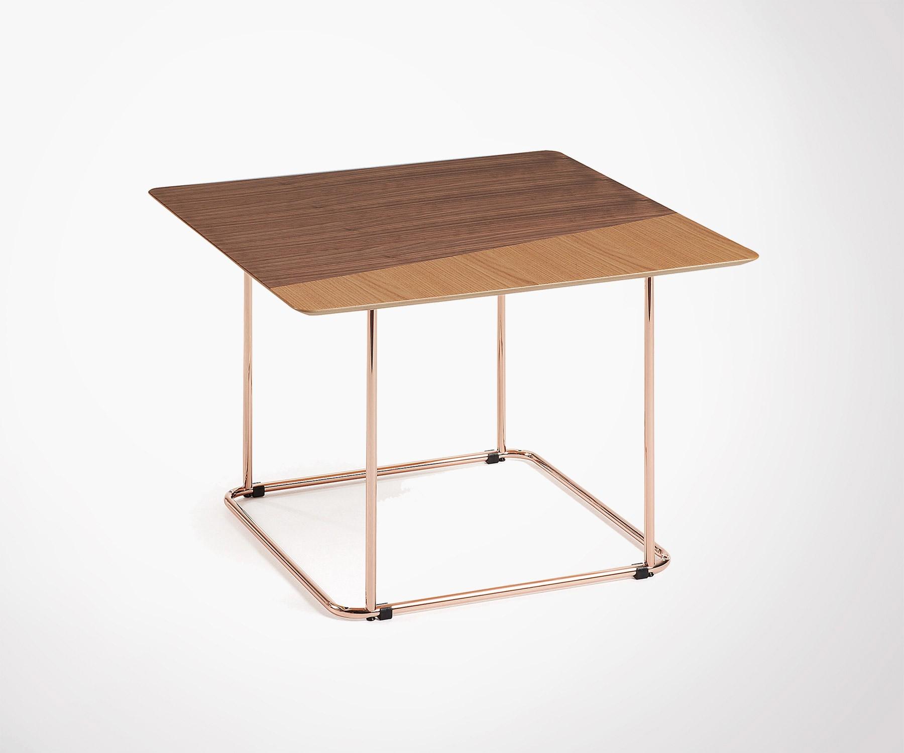 Table Basse Ronde Art Deco designer table basse ronde cuivre noir table d/'appoint
