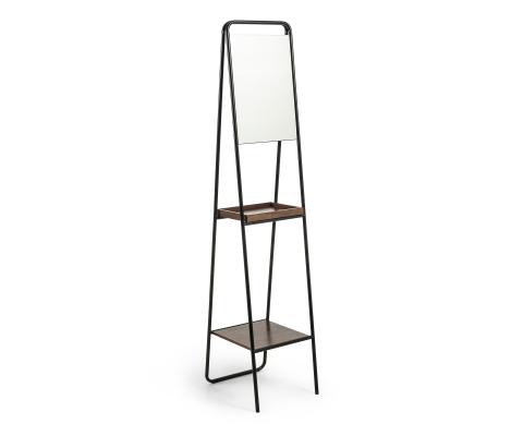 Miroir étagère industriel-PAULUS