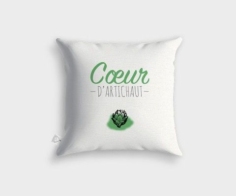 Coussin COEUR D'ARTICHAUT