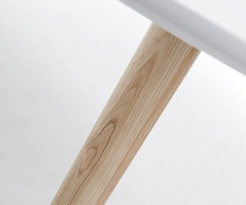 Table bois ronde design moderne TAC - 90cm