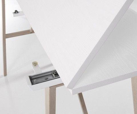 Table console étroite largeur AEGON - 130x45cm