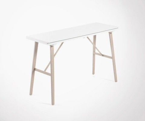 Table console étroite largeur AEGON - 130x45cm