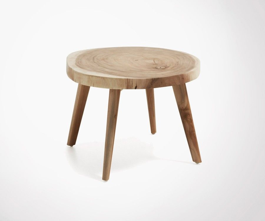 Natural Look Coffee Table Bohemian Style Great Online Price