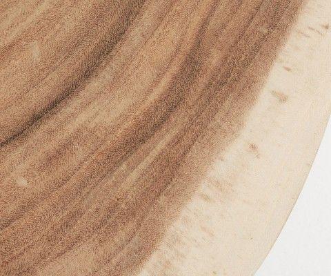 Table basse style bohème chic bois de suar CRISTY - 65cm