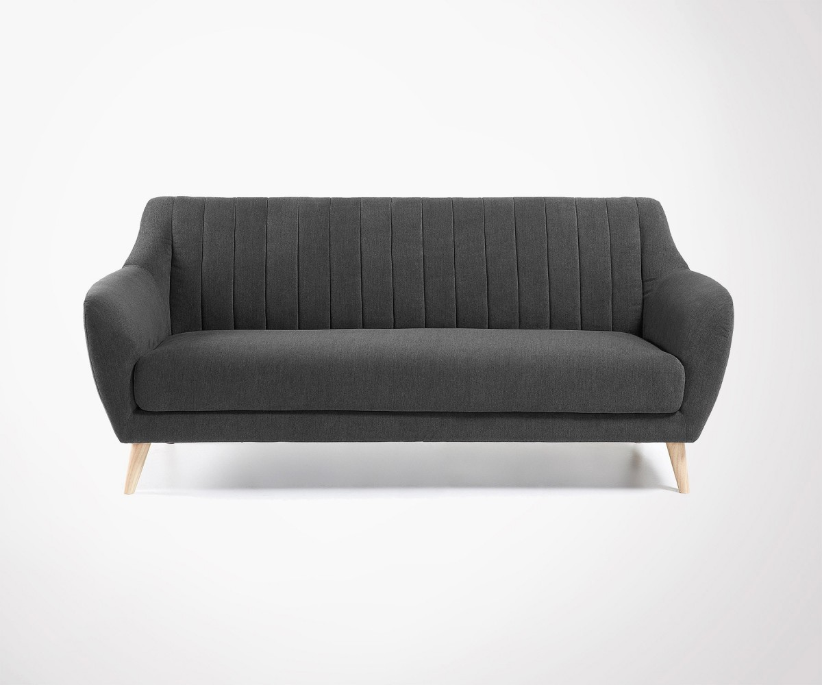 Design Fabric Sofas Persons Colors In Stock Nordic Style - Canapé tissu design