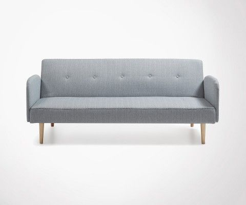 BEDIN large 2 persons design sofa bed - 188cm