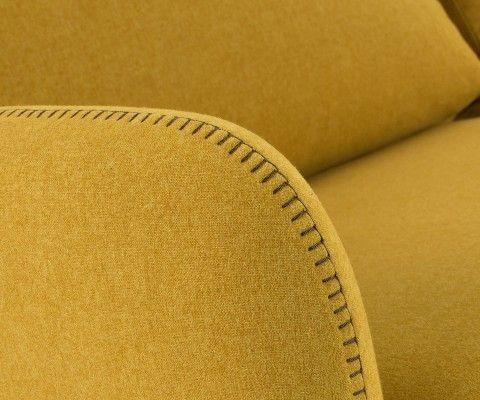 Canapé lit 2 places visco gris contemporain KOMON - 160cm