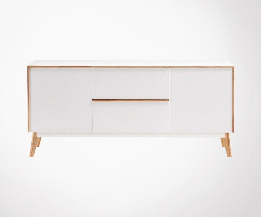 Enfilade haute style moderne scandinave MELTY - 160cm