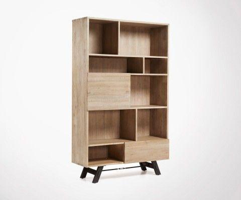 ATIVE 120x195cm acacie storage unit