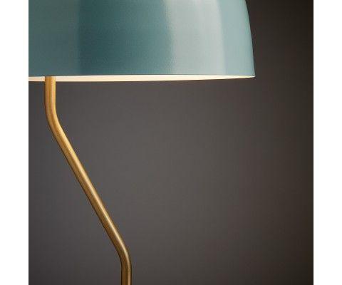 Lampe de table métal beige design moderne VERSEAU