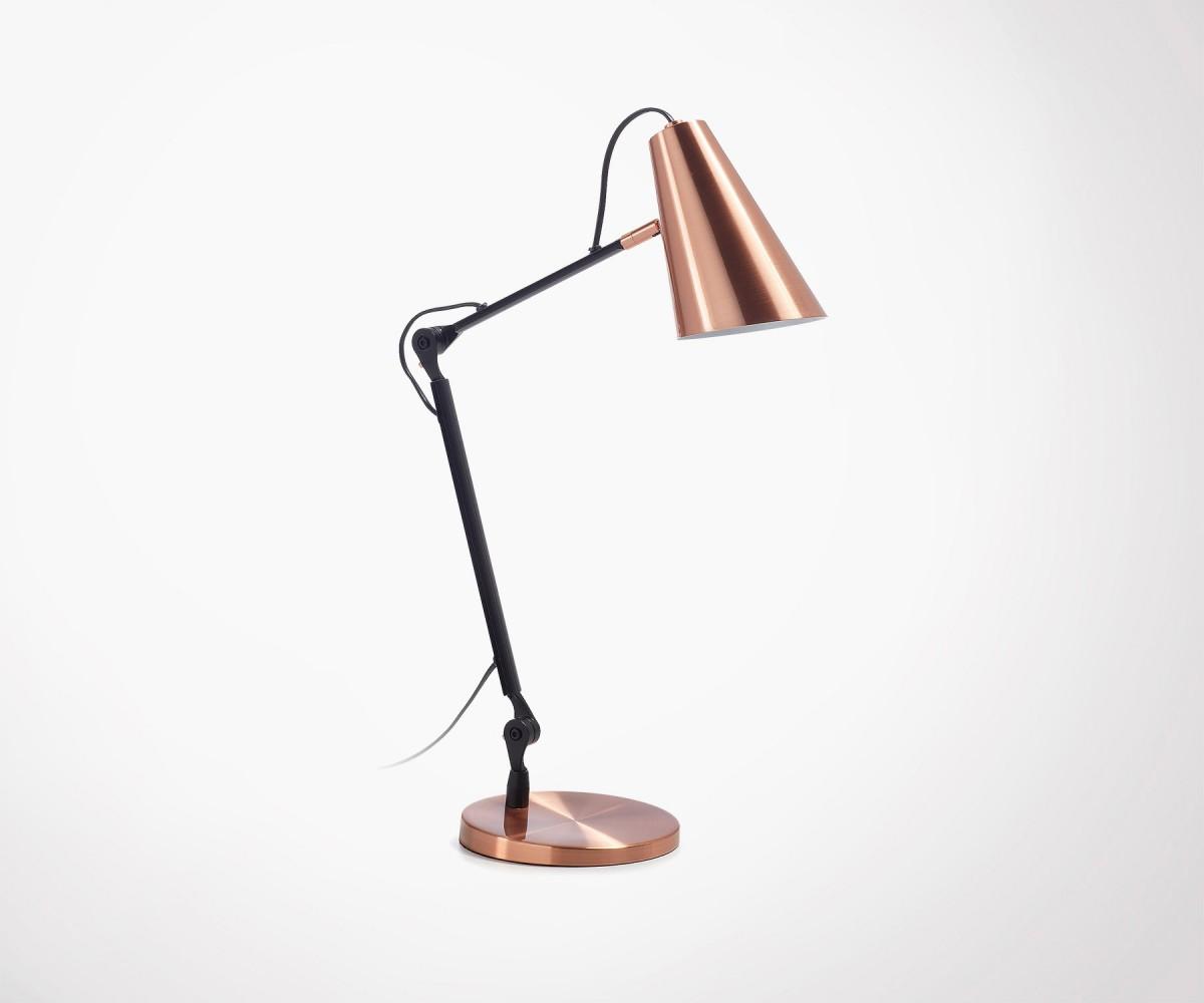 copper metal desk lamp industrial design top design. Black Bedroom Furniture Sets. Home Design Ideas