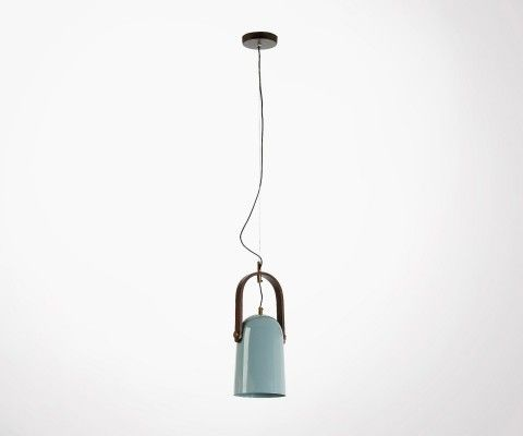 RESNO metal light blue hanging light